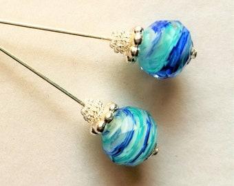 Glass Hijab Pin 2 12inch.