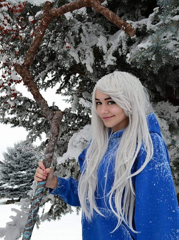 Jack Frost Hoodie Hand Painted Etsy
