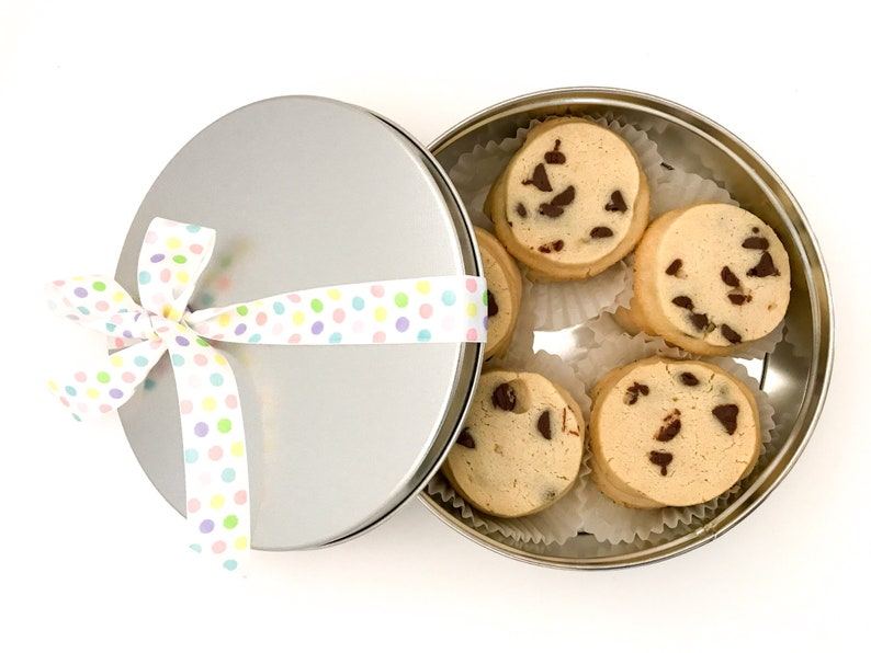Chocolate Chip Spritz Cookies Spring Nut Free Butter Cookie image 0