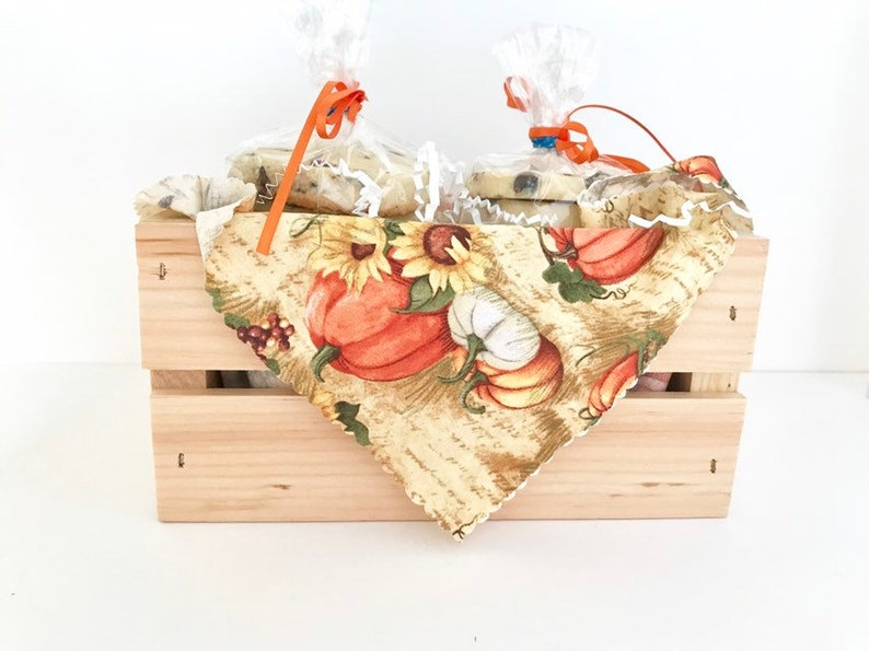 Fall Cookie Crate Thanksgiving Cookie Gift Basket Chocolate image 0