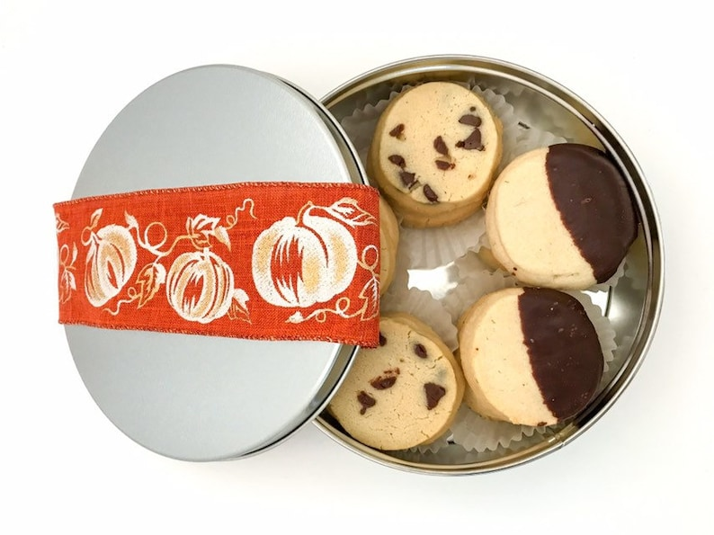 Fall Cookies Thanksgiving Cookies Chocolate Chip Spritz image 0