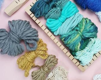 Yarn Pack   Fancy Scrap Yarn Pack, Fibre Pack, Yarn Kit, Weaving Yarn Pack