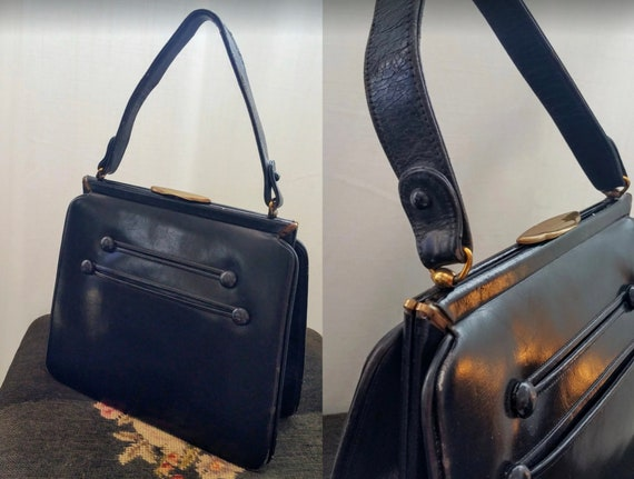 1930s Leather handbag