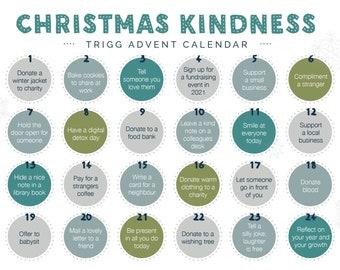 Kindness Advent Calendar PDF