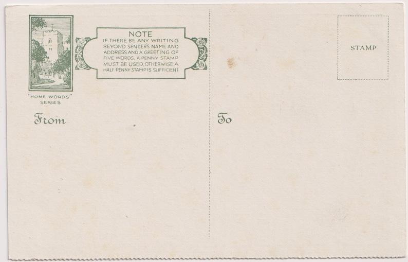 c1910s Vintage Artist Postcard Home Words Series PERCY TARRANT The Old Men/'s DARLING
