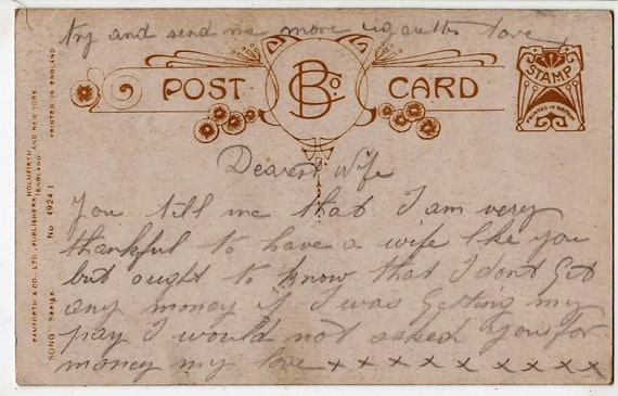 Tiki AUCKLAND HARBOUR,N.Z. F.G.R c1920 1175 MAORI Wharenui Good Luck Vintage Real Photo Postcard,Frank Duncan