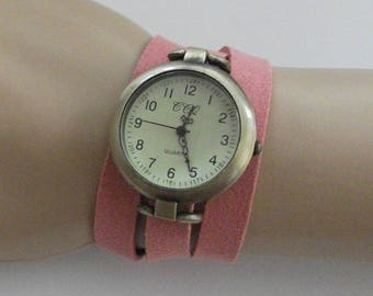 Women watch, retro minimalist style watch, wrap watch, wrap around wrist watch, bracelet watch, watch for woman designed by WrapWatches
