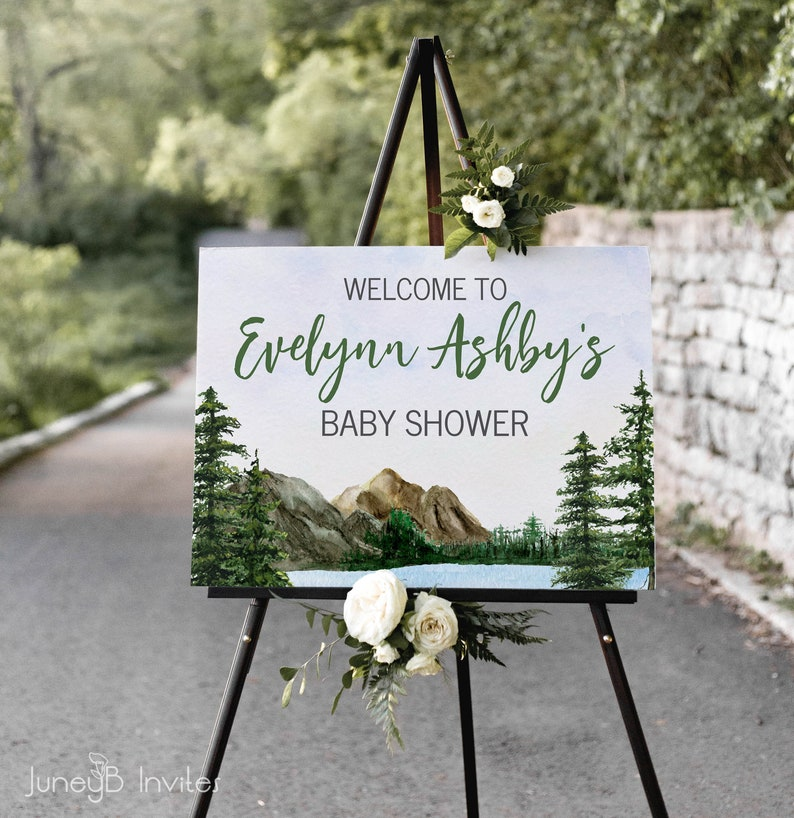 12x18 Digital files JPEG+PDF Gold Foil Effect 18x24 or 24x36 Teal Customized by ME within 48 hours Wedding Welcome Sign