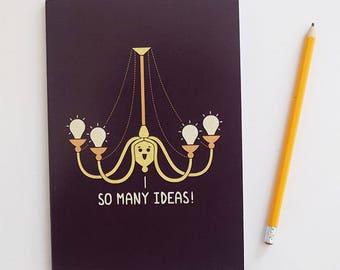 So Many Ideas A5 Notebook