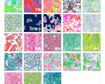 Lilly inspired adhesive decals