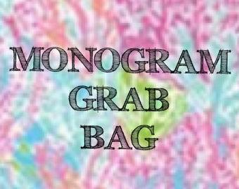 Monogram Grab bag