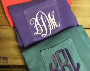 Diy monogram iron ons glitter and solid vinyl