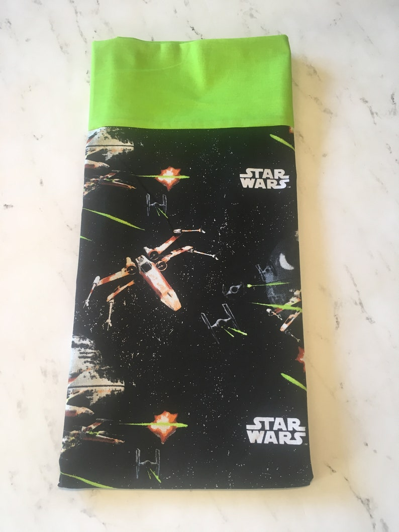Star Wars Jedi R2D2 C3PO Darth Vader Pillowcases May the 4th Be With You