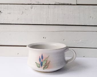 Vintage handmade pottery trinket dish | pottery | ceramic vessel