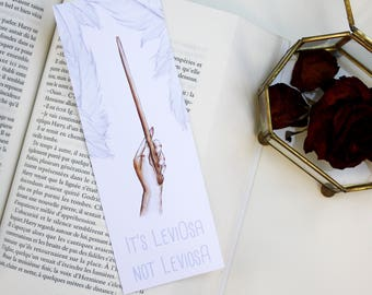 "Bookmark ""leviosa"" large format"