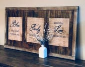 Rustic Wall Hanging - Inspirational