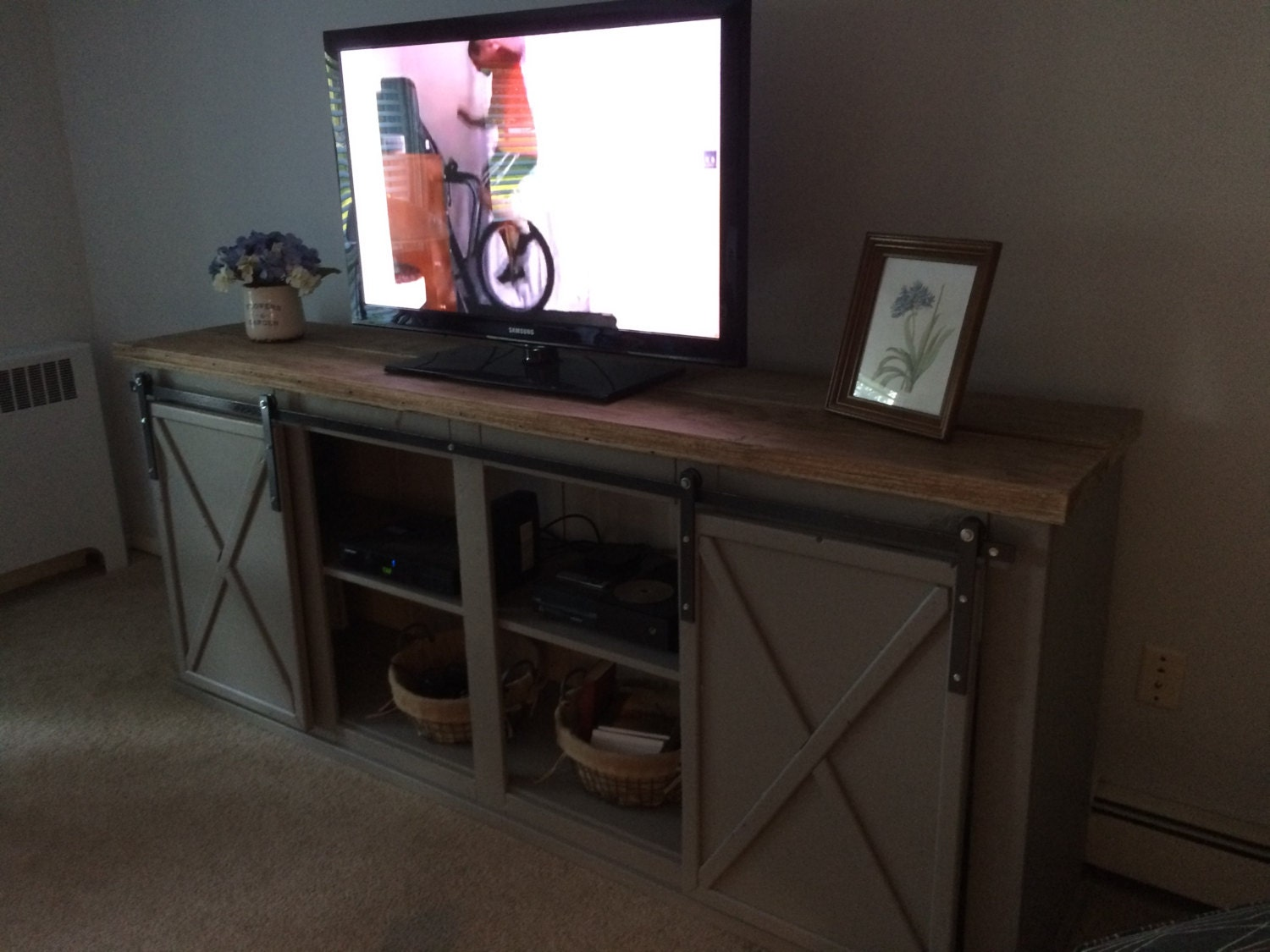 Farmhouse Entertainment Center Farmhouse Tv Stand Rustic