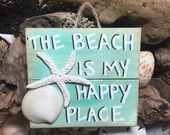 Beach Pallet Art - Wooden Beach Fixes Everything Sign, Beach Decor, Wood Beach Art, Upcycled Beach Art Sign, Beach Wooden Wall Decor