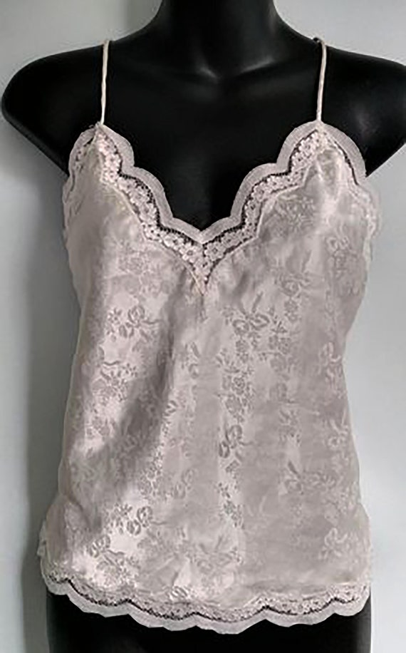 Vintage 1980s Christian Dior Silky Lingerie Spaghe