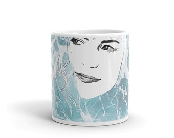 d5d907e0205 Angus And Julia Stone Cup   Julia Stone Drawing   Julia Stone Painting    Print Artwork   Westcoast Art   Ocean Art   Julia Stone Artwork