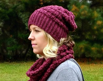 Lenape Slouch Beanie - PATTERN ONLY!