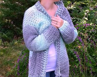 Chalet Cardigan - Crochet Pattern Only!