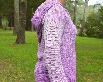0ff1bf7f7 Chunky Crochet Oversized Sweater CROCHET PATTERN ONLY