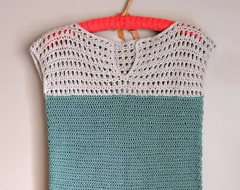 Shore Points Crochet Top - PATTERN ONLY
