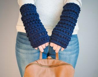 Mattina Crochet Fingerless Gloves/Mittens