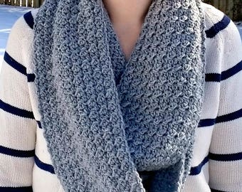 The Cambridge Infinity Scarf - Crochet Pattern Only!