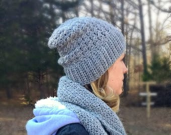The Cambridge Beanie - Crochet Pattern Only!