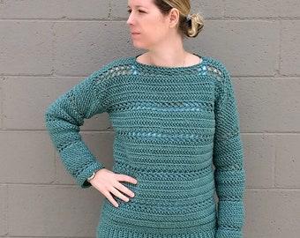 Stone Harbor Crochet Tunic - CROCHET PATTERN ONLY!