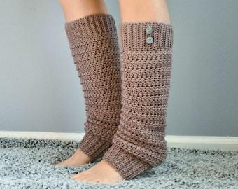 Crochet Slouchy Legwarmers - Pattern Only!