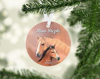 Mare & Foal Ornament