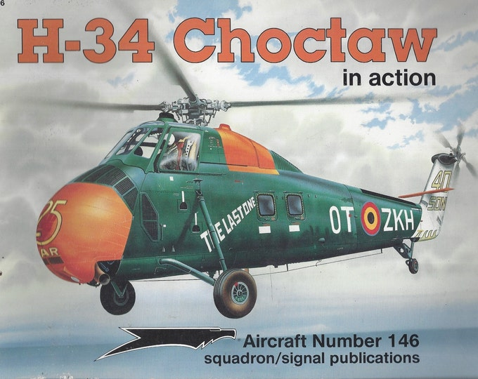 H-34 Choctaw in action - Aircraft No. 146 (Paperback)