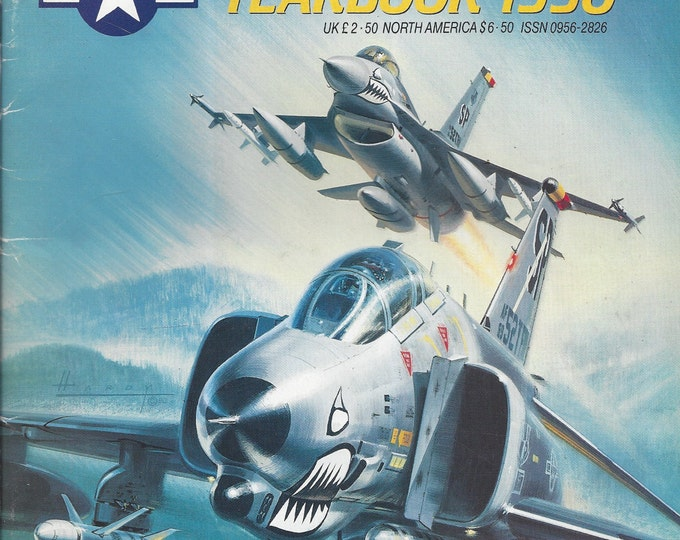 United States Airforces Europe Yearbook 1990