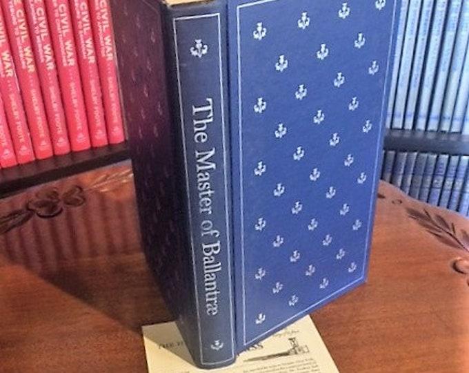 HERITAGE PRESS: The Master of Ballantrae by Robert Lewis Stevenson     (1965)