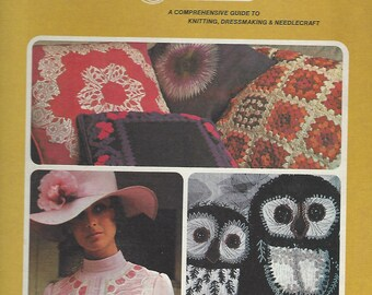 Golden Hands:  A Comprehensive Guide to Knitting, Dressmaking and Needlecraft;  Volume 2  Beverly Hilton (1973)
