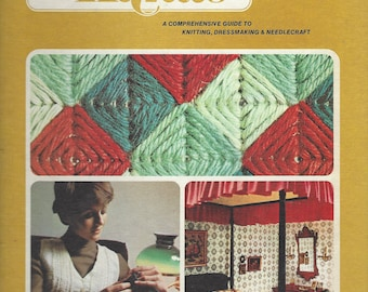 Golden Hands:  A Comprehensive Guide to Knitting, Dressmaking and Needlecraft;  Volume 3  Beverly Hilton (1973)