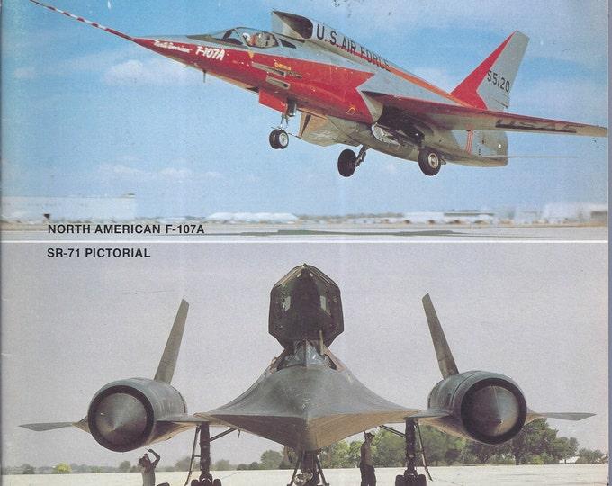 AEROPHILE Volume 1, Number 5, F-107A SR-71 August, 1978 Paperback