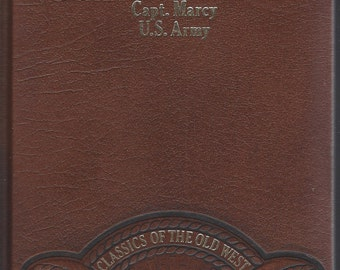 TIME-LIFE: Classics of the Old West-The Prairie Traveler by Capt. Marcy -U.S. Army (Leather)