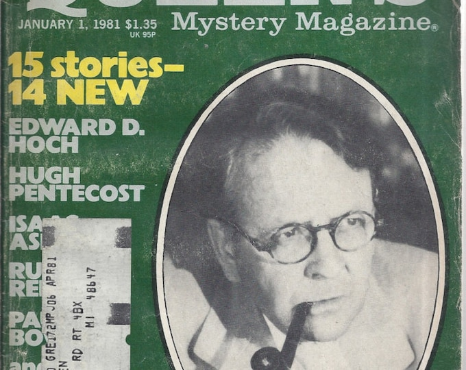 Ellery Queen January 1981 Mystery Magazine