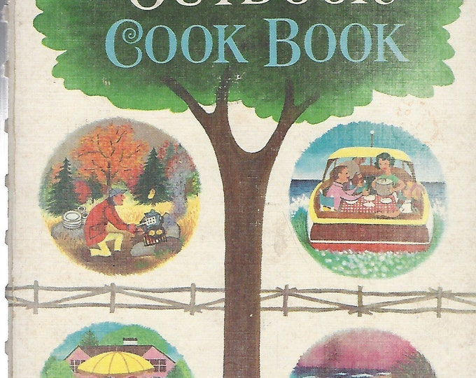 Betty Crocker's Outdoor Cook Book 1961 1st Edition 2nd Printing