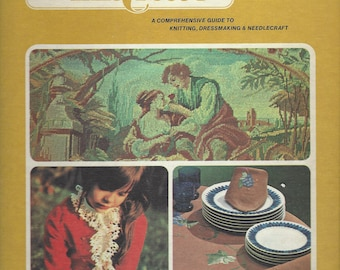 Golden Hands:  A Comprehensive Guide to Knitting, Dressmaking and Needlecraft;  Volume 6  (INDEX)  Beverly Hilton (1973)