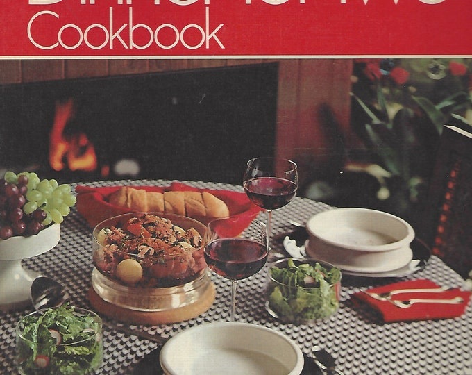 Betty Crocker's Dinner For Two Cookbook (1973) 1st Edition 2nd Printing