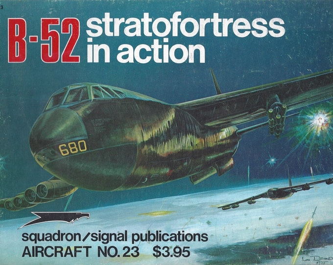 B-52 Stratofortress IN ACTION 1975 (Paperback)