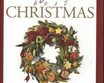 Betty Crocker's Best Christmas Cookbook 1999 1st Edition
