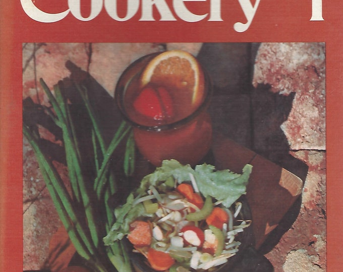 Vegetarian Cookery I    by Patricia Hall Black, M.S.  and Ruth Little Carey Ph.D  Hardcover  Spiral (1971)