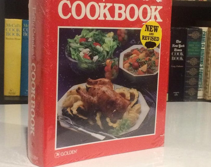 Betty Crocker's Cookbook (Five Ringe Binder) SEALED MINT