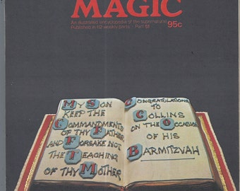 Man, Myth and Magic Part 51 Magazine by Richard Cavendish 1970